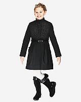 Детское пальто для девочки №570 черный