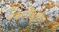 Поталь в хлопьях микс золото-серебро 1г DK25218