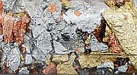 Поталь в хлопьях микс золото-серебро-медь 1г DK25221