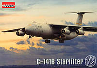 1:144 Сборная модель самолета Lockheed C-141B Starlifter, Roden 325