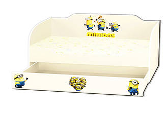"""Детская кровать """"Kinder-Cool KC-0005"""" 80x170 Viorina-Deko"""