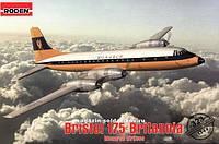 1:144 Сборная модель самолета Bristol 175 Britannia, Roden 323