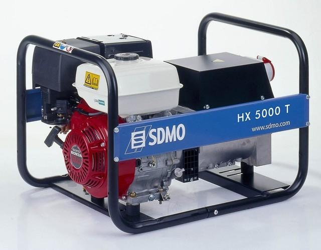 ⚡SDMO HX 5000 T (4 кВт)