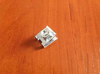 Крепление пластика, закладная пластина под болт 6 мм для триммера