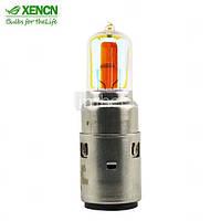 Лампа 12V 35/35W (BA20D, D35) галогенка желтая