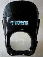 Обтекатель Tiger черный ( с креплением)