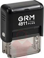 "Штамп стандартный ""Вих. №__ з датою"" GRM 4911 Plus"