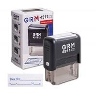 """Штамп стандартный """"Вх. №__ з датою"""" GRM 4911 Plus"""