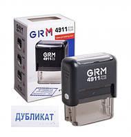 """Штамп стандартный """"ДУБЛІКАТ"""" GRM 4911 Plus"""