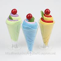 «Мороженное» в бокале — набор из 3 бокалов