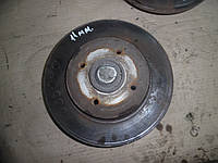 Тормозной диск задний с цапфой  (Универсал) Citroen Berlingo 2 08-12 (Ситроен берлинго), 4249 46