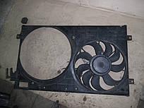 Диффузор вентилятора (1,6  8V) Skoda Octavia 96-00 (Шкода Октавия), 1J0121207T