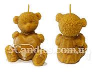 Форма для свечей «Медвежонок I LOVE YOU»