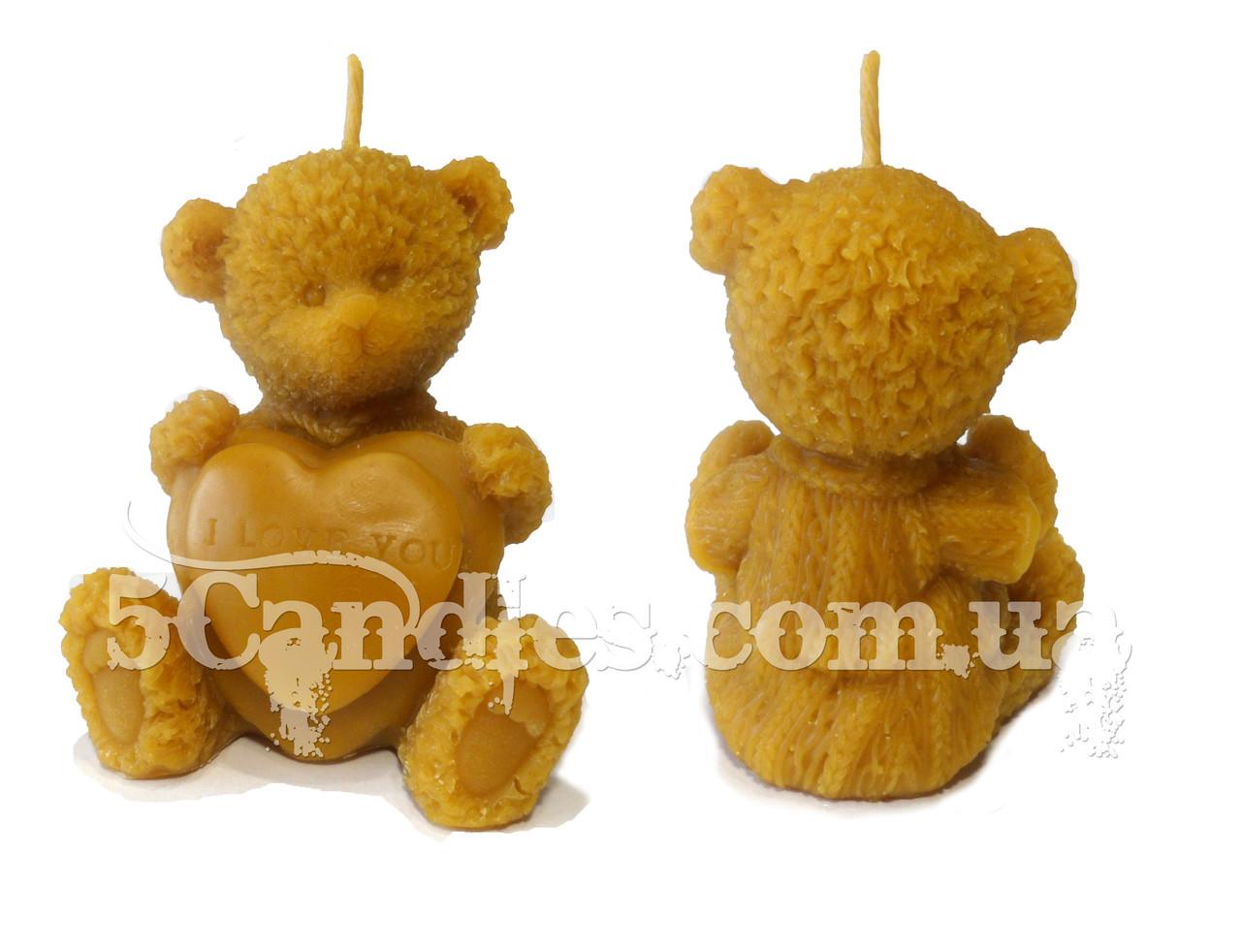 Форма для свечей Медвежонок I LOVE YOU