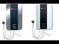 Водонагреватель электрический проточный   3.5 THERMEX 350 PRIME белый D + R душ + кран