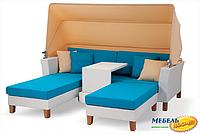 Комплект мебели с 3-х местной софой RIV- Ванесса