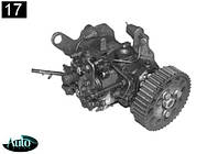 Паливний насос Peugeot Boxer Citroen Jumper 2.5 D 94-02г