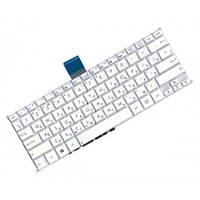 Клавиатура для ноутбука ASUS (F200, R202, X200 series) rus, white, без фрейма