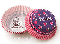Капсула для капкейка принцеса фіолетова 48 шт., фото 1