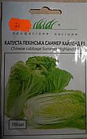 Семена  капусты пекинской сорт Саммер Хайленд F1 100 шт