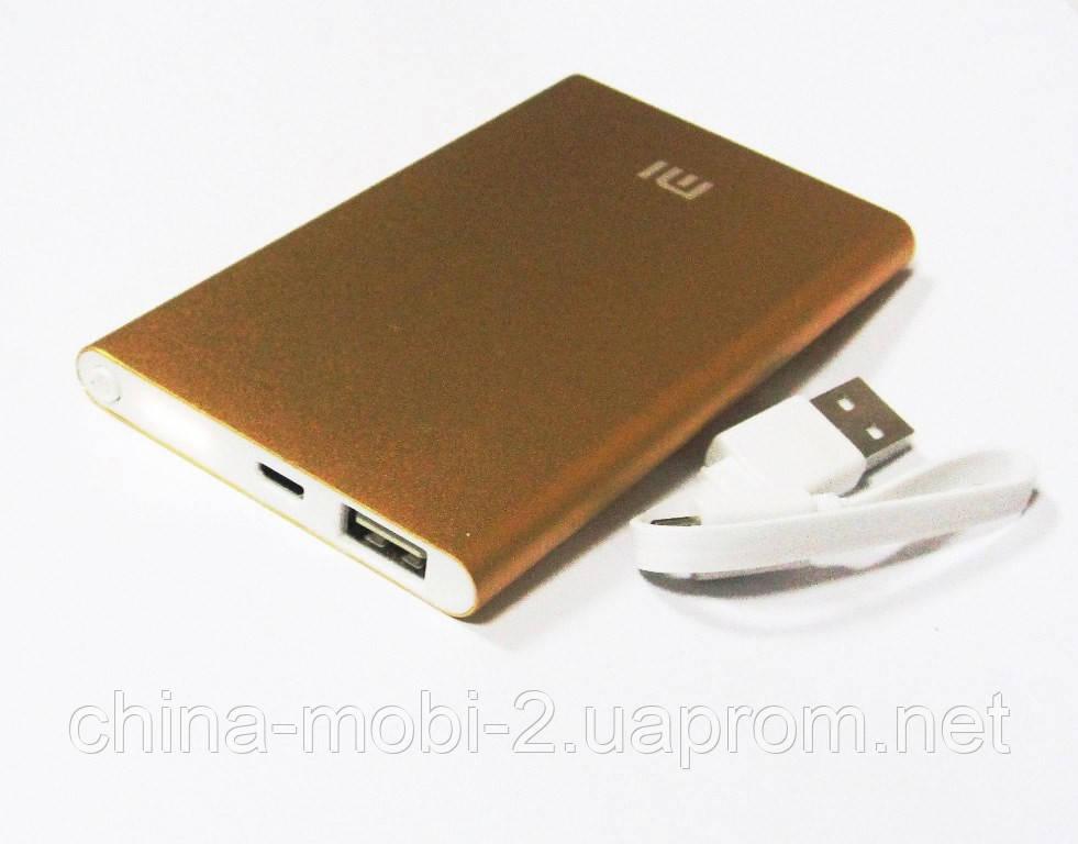 Универсальная батарея - Xiaomi power bank MI9, 10000 mAh, gold
