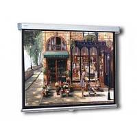 Экран для проектора настенный ручной 203х203 см