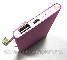 Универсальная батарея - Xiaomi power bank MI9, 10000 mAh, pink, фото 2