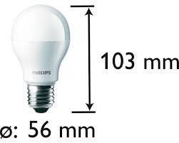 Светодиодная лампа PHILIPS A60 11W, фото 2