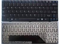 Клавиатура для ноутбука MSI (U90, U100, U110, U115, U120, U123) rus, black