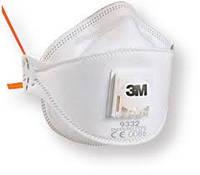 Респиратор маска 3М комфортный с клапаном FFP2 от токсической пыли