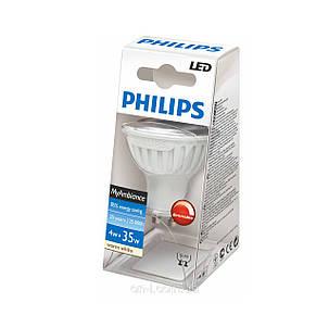 Светодиодная лампа PHILIPS LED 50W GU10, фото 2