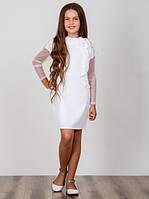 Элегантное платье для девочки Suzie Лорелея цвет белый
