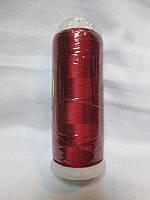 Нитки для машинної вишики 100% віскоза (100% rayon) 3000 метрів, №294, бордо світлий