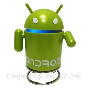 Портативная MP3 колонка Android Robot USB андроид