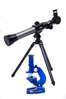 Телескоп+микроскоп C2111 (1111964) (18шт) в коробке 44*39*7,8см