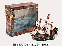 Корабль пиратский (арт. 8383), пластик,31x11.5x29см JAMBO 100178674