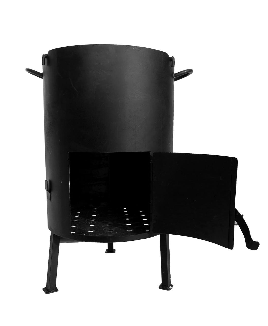 Печка буржуйка  d 500мм сталь 3мм