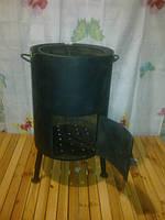 Печка буржуйка сталь 3мм d 380мм, фото 1