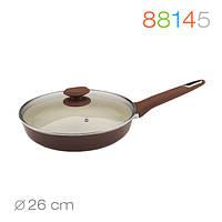 Сковорода с крышкой Macchiato 26 см.  Granchio 88145