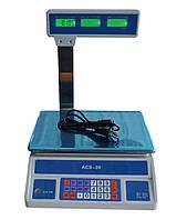 Весы торговые ACS-798-30 кг, фото 1