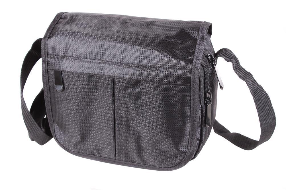 Мужская текстильная сумка 301519 черная