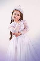 Костюм снегурочки в белом. Детский костюм снегурочка прокат Киев, фото 1