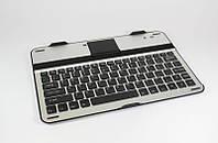 "Чехол клавиатура Bluetooth для планшета 10"", откидная подставка, металл/пластик, 260*180*7мм"