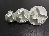 Набор плунжеров для мастики Бабочки