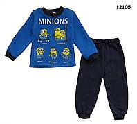 Теплый костюм Minions для мальчика. 2 года