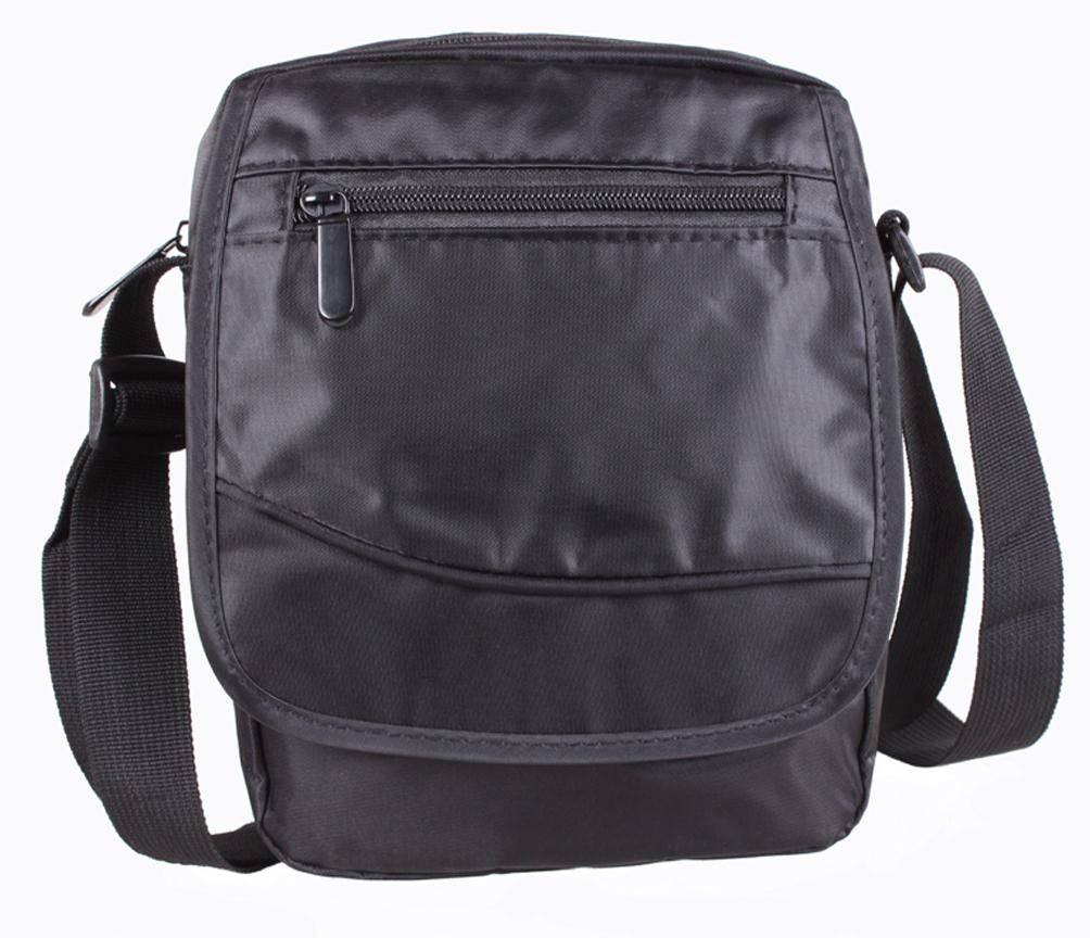 Мужская сумка через плечо серного цвета 301625