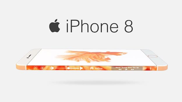 Уже осенью 2017 года встречайте новый Apple iPhone 8!