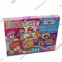 Напольная игра Twister (Твистер) игровое поле 150х110 см, фото 1