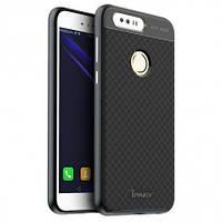 Чехол накладка IPAKY TPU + бампер PC для Huawei Honor 8 черный