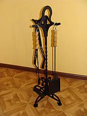 Мангальный набор (щипцы для углей, кочерга, совочек), фото 3